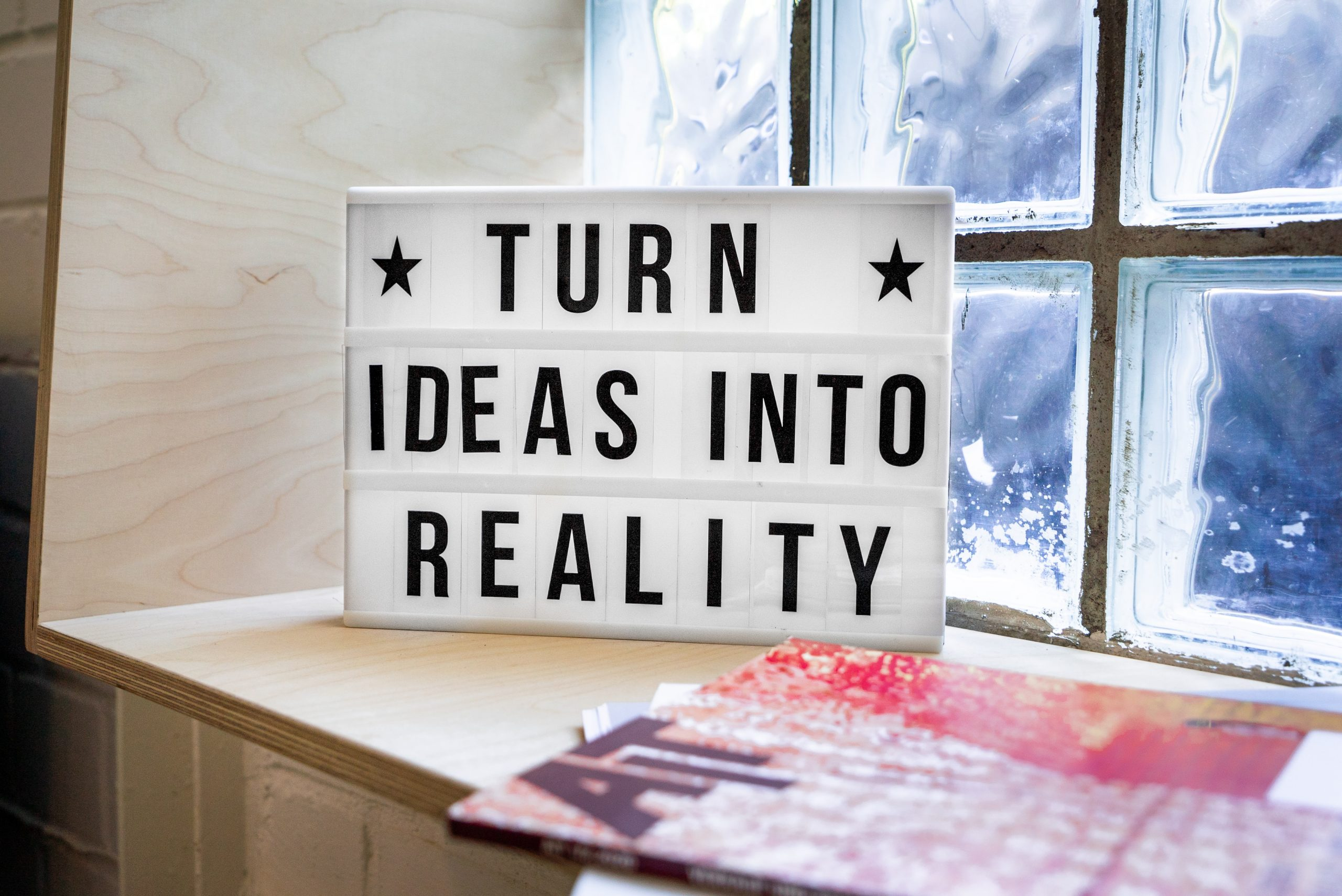 Turn Ideas Into Reality scaled